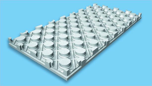 Austrotherm PPG® - плоча за подово отопление