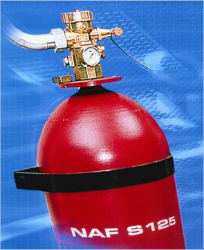 Гасителните агенти за обемно гасене NAF S 125® и NAF S 227® са одобрени от американската агенция за защита на околната среда (EPA)
