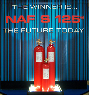 Гасителни агенти за обемно гасене NAF S 125®