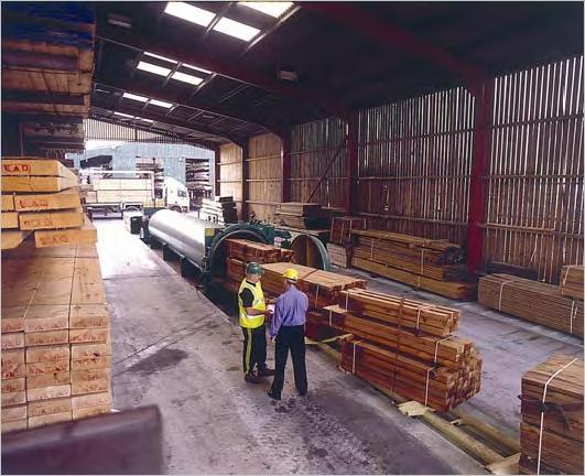Импрегниране на дървесина в автоклав