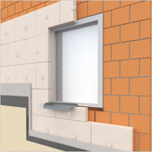MULTIPOR е подходящ за външни и вътрешни топлоизолации