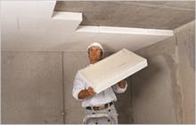 MULTIPOR е подходящ за изолация на тавани на подземни помещения и гаражи