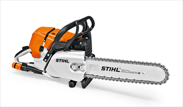 Резачка за строителни материали STIHL GS 461 - реже бетон, скъсява тръби, разрязва стени