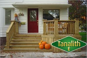 Дълготрайна, доказана и одобрена защита на дървесина с Tanalith E