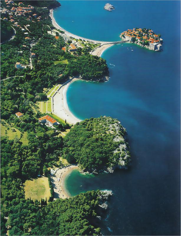 Остров Свети Стефан в Черна гора