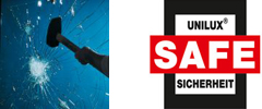 Unilux SAFE и безопасност съгласно DIN