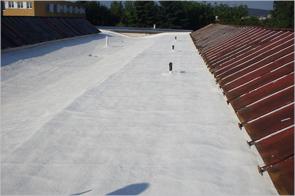 Хидроизолация на покрив със система Акрофлекс