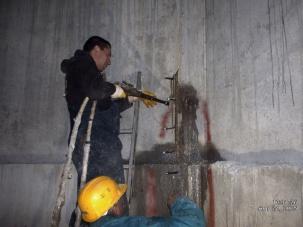 Инжектиране на бетони за спиране на течове