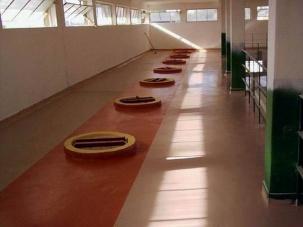 Подово покритие за промишлени сгради
