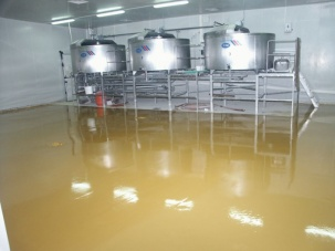 Подови покрития за млекопреработвателната промишленост
