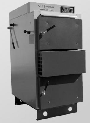 Viessmann - пиролизен котел на твърдо гориво Vitolig