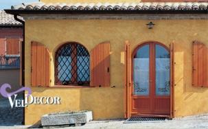 VELDECOR - силоксанова декоративна боя със старинен ефект