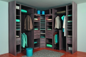 Ъглов гардероб