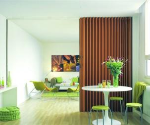 Преграждане на помещения с врати хармоника