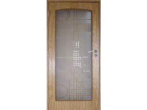 Фурнирована интериорна врата