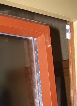 Дървена дограма с алуминиева бленда отвън