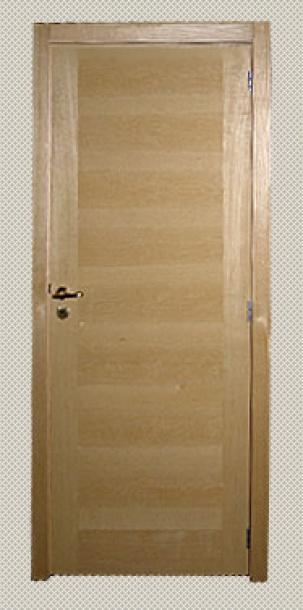 Интериорна врата от МДФ с ясенов фурнир