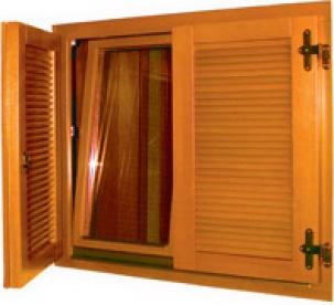 Дървени капаци за прозорци