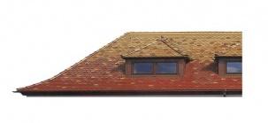 Къща с керемиди тип Biber