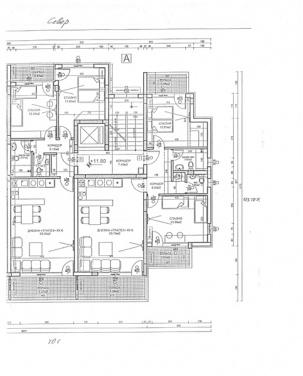 Апартаменти вход А - етаж 5