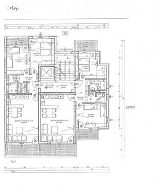 Апартаменти вход А - етаж 2
