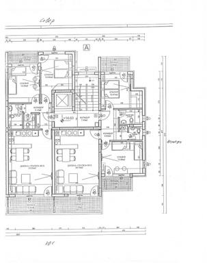 Апартаменти вход А - етаж 6