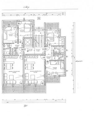 Апартаменти вход А - етаж 4