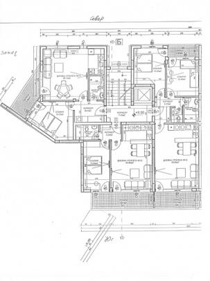 Апартаменти вход Б - етаж 4