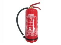 Прахов пожарогасител тип PDE 6 GA