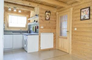 Построени дървени къщи - вила Правец - интериор