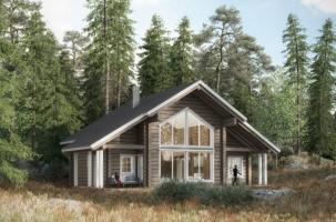 Дървена къща модел Metso