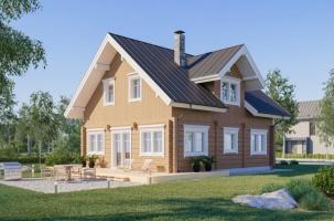 Дървена къща модел Kevat