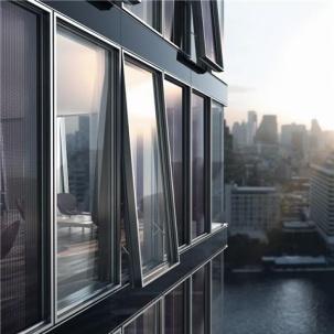 Прозоречен и фасаден модул Schuco ProSol TF