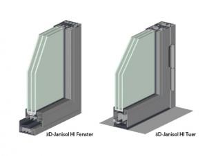 Прозорци и врати Janisol HI