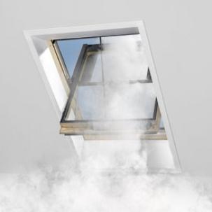 Димоотвеждаща система VELUX за скатен покрив