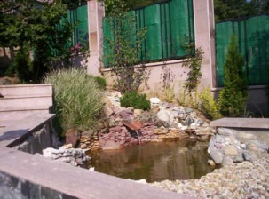 Водна площ в градината