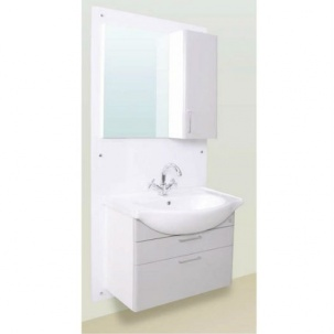 PVC мебели за баня Point 68 см