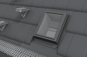 Изход за покрива и стъпала за обслужване