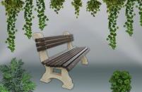 Градинска пейка - каталожен номер 450