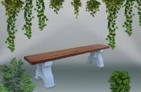 Градинска пейка - каталожен номер 458