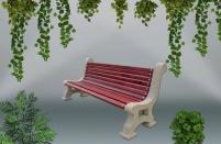 Градинска пейка - каталожен номер 451