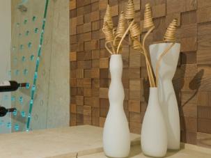 3D панели от естествено дърво
