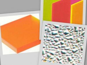 Плътни плоскости от PMMA, PETG, PS, PVC, пено-PVC
