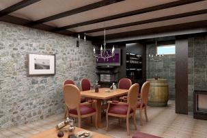3Д Проект за винарна