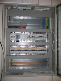 Вътрешно окабеляване на шкафове за управление