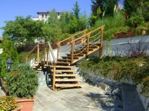 Ваканционно селище Санта Марина - дървени конструкции