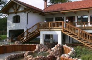 Сглобяема къща - импрегнация