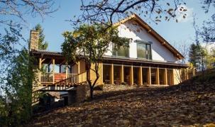 Пасивна къща в Свети Митър - импрегнация