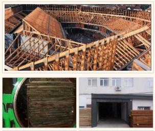 Импрегниран дървен материал