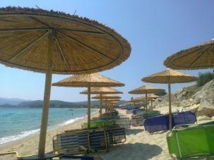 Плажни чадъри - Халкидики, Гърция - импрегнация